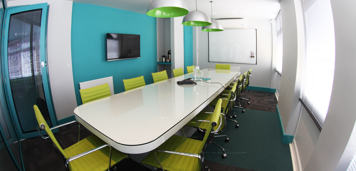 Polhill Business Centre meeting room